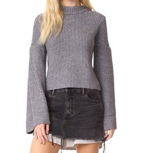*NWT* endless rose bell sleeves sweater